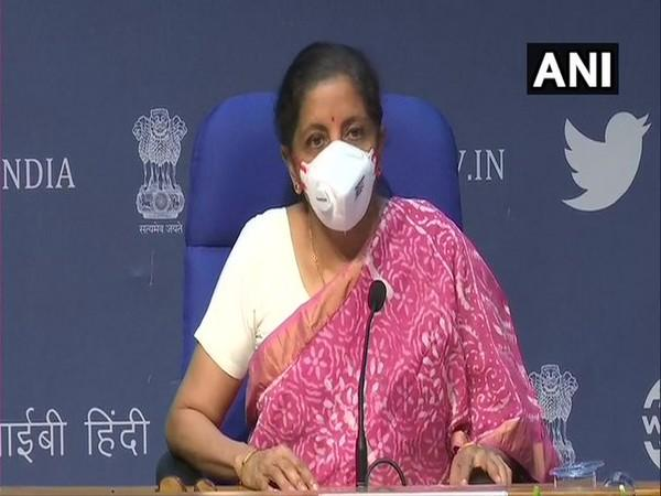 Finance Minister Nirmala Sitharaman [File Photo]