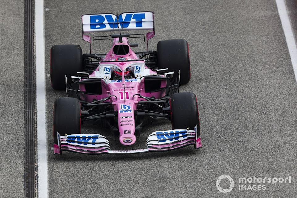 """Sergio Perez, Racing Point RP20<span class=""""copyright"""">Charles Coates / Motorsport Images</span>"""