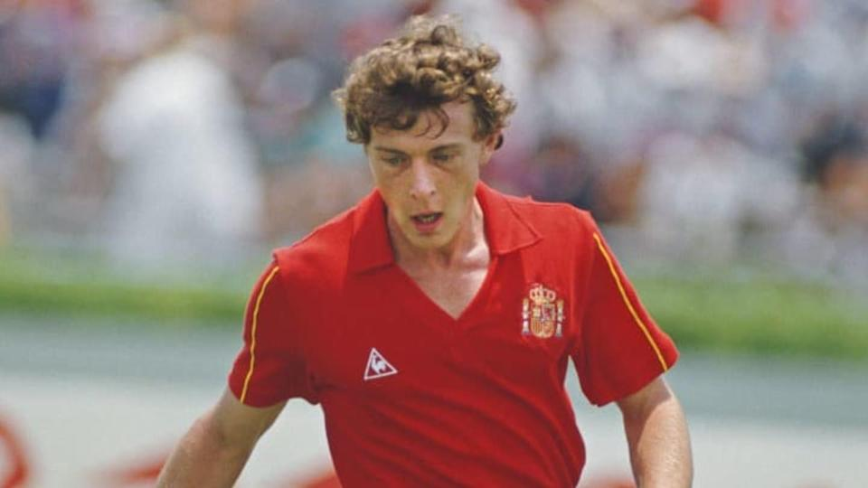 Emilio Butragueno Spain 1986 FIFA World Cup   Getty Images/Getty Images