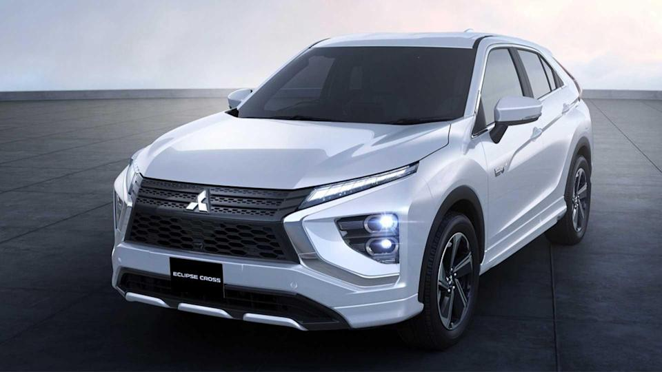 mitsubishi eclipse cross (2021): neue bilder vom facelift