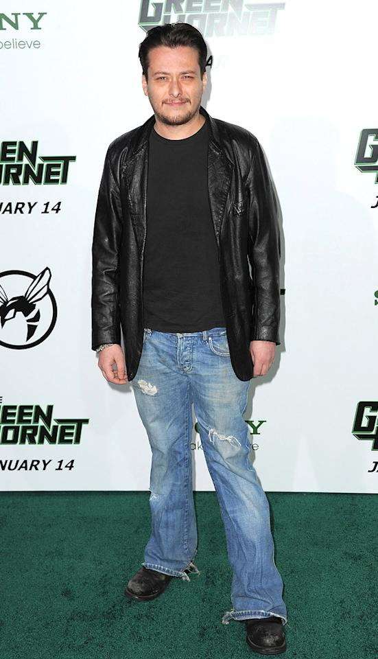 """<a href=""""http://movies.yahoo.com/movie/contributor/1800018633"""">Edward Furlong</a> attends the Los Angeles premiere of <a href=""""http://movies.yahoo.com/movie/1808411967/info"""">The Green Hornet</a> on January 10, 2011."""