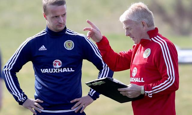 "<span class=""element-image__caption"">Gordon Strachan, the Scotland manager, said: 'Sometimes when you have a challenge like that in life, it brings the best out of you.'</span> <span class=""element-image__credit"">Photograph: Jane Barlow/PA</span>"