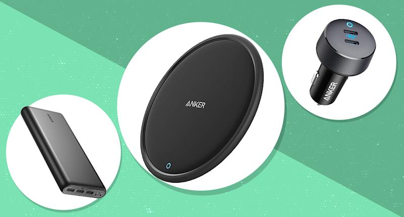 Save up to 43 percent on Anker smartphone and laptop accessories. (Photo: Amazon)