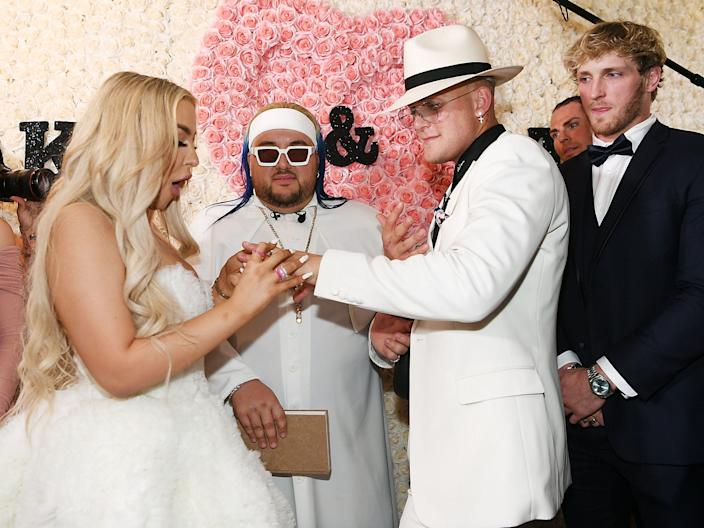 tana mongeau jake paul wedding