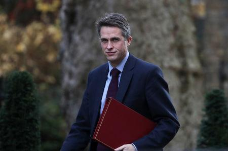 Secretary of State for Defence, Gavin Williamson who suggested the Navy fire paintballs in a bid to 'humiliate' Spanish ships straying into British waters.