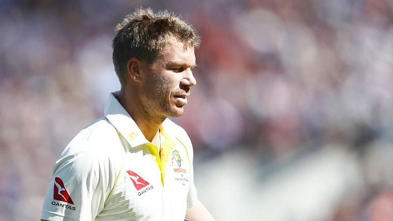 David Warner has struggled in the Ashes series in England.