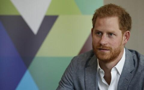 The Duke of Sussex at the YMCA event - Credit: PA