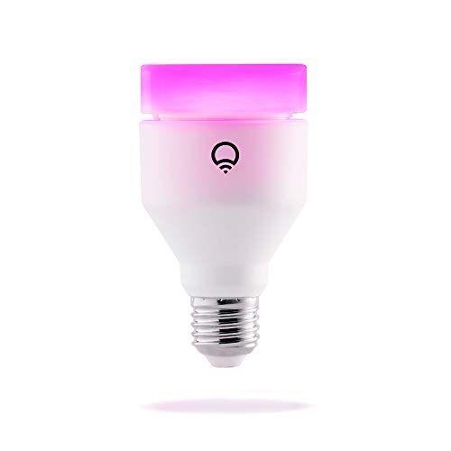 """<p><strong>LIFX</strong></p><p>amazon.com</p><p><strong>$59.98</strong></p><p><a href=""""https://www.amazon.com/dp/B01KY02MS8?tag=syn-yahoo-20&ascsubtag=%5Bartid%7C10055.g.32980654%5Bsrc%7Cyahoo-us"""" rel=""""nofollow noopener"""" target=""""_blank"""" data-ylk=""""slk:Shop Now"""" class=""""link rapid-noclick-resp"""">Shop Now</a></p><p>LifX's bulbs will work with any floor lamp or fixture you already own, and they're WiFi-connected and enabled, which means you won't need <a href=""""https://www.goodhousekeeping.com/home-products/g31468191/best-smart-plugs-outlets/"""" rel=""""nofollow noopener"""" target=""""_blank"""" data-ylk=""""slk:a dedicated smart home hub"""" class=""""link rapid-noclick-resp"""">a dedicated smart home hub</a> to control them. <strong>The bulb is adjusted with mobile apps and home ecosystems like Google Assistant, Apple HomeKit, and Alexa; it can rotate between colors and brightness of your choice. </strong>Given its capability range, these bulbs are better suited for light exposure at times beyond waking up and heading to bed, and fit well into living spaces. In lab tests, Rothman notes that experts felt that setup wasn't as intuitive as other devices on this list. </p>"""