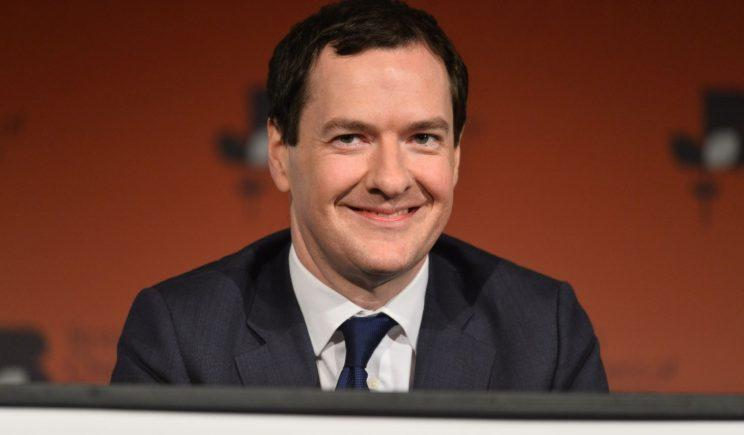 Not giving up the (other) day job: George Osborne (REX/Shutterstock)