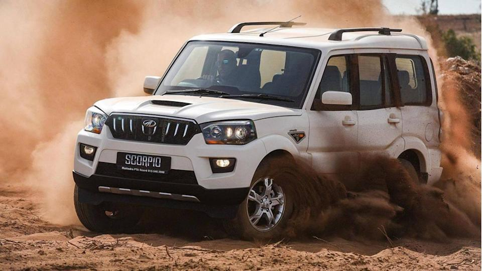 2021 Mahindra Scorpio spied testing, 17-inch alloy wheels revealed