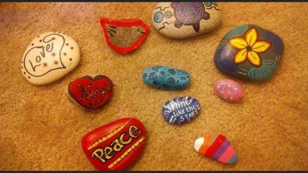 A selection of Wendy Reynolds' painted rocks. (Wendy Reynolds)