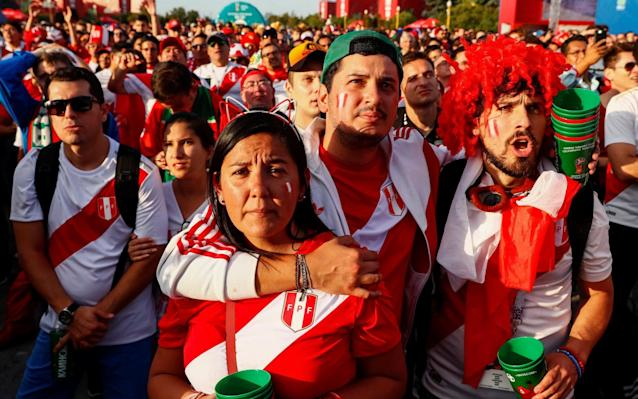 """What is it? Australia vs Peru, a must-win match if Australia are to have any hope of staying in the World Cup. Peru are already out. When is it? Tuesday 26 June - ie tomorrow. What time is kick-off? 15:00 BST. What TV channel is it on? This one is being broadcast on ITV4, or you can follow the match live with Telegraph Sport. World Cup 2018 Simulator Single Game Where is the game being played? This one takes place at the Fisht Olympic stadium in Sochi. World Cup 2018 stadium: Fisht Stadium What is the team news? Australia forward Andrew Nabbout is hopeful of facing Peru after dislocating his shoulder in Australia's 1-1 draw against Denmark last week. Other than that they head into the decisive match injury free. Peru forward Jefferson Farfan will not be available for selection after suffering concussion in his country's defeat to France. Defensive midfielder Renato Tapia, who missed the match against France also from concussion, is expected to return. The Andean nation are unlikely to field a weakened side as they go in search of a goal at the 2018 Russia World Cup. World Cup 2018 