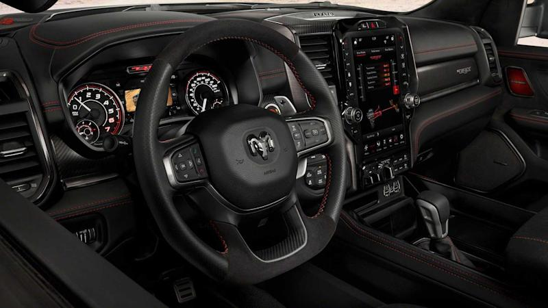 2021 Ram 1500 TRX Interior Steering wheel