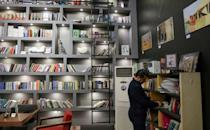 A book store in Arbil, where many of the book club meetings take place