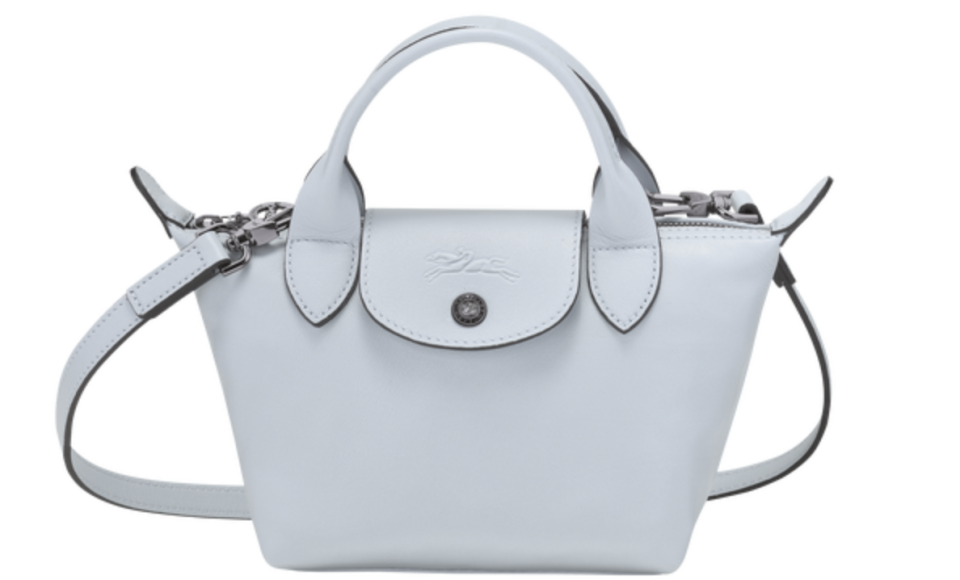 PHOTO: Longchamp. Le Pliage Cuir Top Handle Bag XS