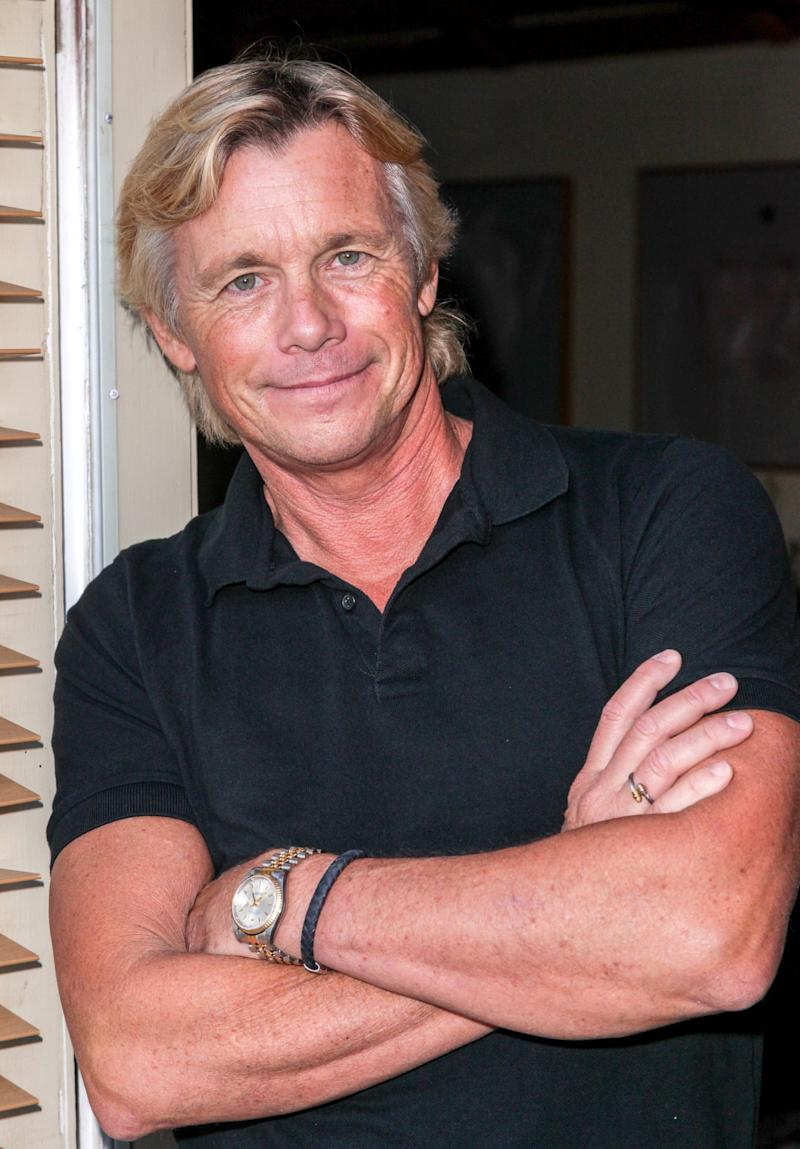"""LOS ANGELES, CA - AUGUST 17: Actor Christopher Atkins attends a Private Screening of the Oculus Virtual Reality short film """"Defrost"""" on August 17, 2015 in Los Angeles, California. (Photo by Paul Redmond/Getty Images)"""