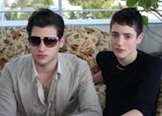 MIAMI BEACH, FL - DECEMBER 06: Peter Brant and Harry Brant attend Pavan a la Plage Luncheon at Soho Beach House on December 6, 2012 in Miami Beach, Florida. (Photo by Yana Toyber/Getty Images for Pavan a la Plage)