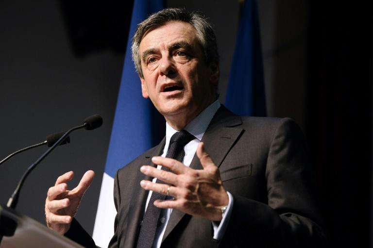 François Fillon en meeting le 15 mars 2017 à Pertuis