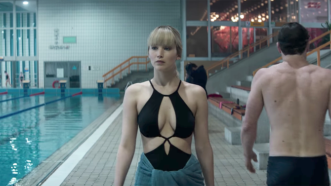 Jennifer Lawrence vive assassina sensual no trailer de 'Operação Red Sparrow'. Assista