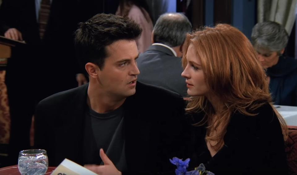 Matthew Perry Julia Roberts It Couples From the 90s