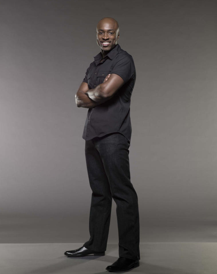"Wole Parks in the Lifetime series ""Devious Maids."""