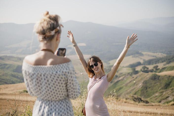 """<p>Staying on a budget doesn't mean you have to miss out on all the vacations with your besties. Instead of shelling out for a luxe hotel, save money and connect with nature by <a href=""""https://fastcastrods.com/is-tent-camping-cheaper-than-hotels/"""" rel=""""nofollow noopener"""" target=""""_blank"""" data-ylk=""""slk:sleeping under the stars for a weekend"""" class=""""link rapid-noclick-resp"""">sleeping under the stars for a weekend</a>. If you don't already have camping equipment, see if you can rent or borrow it for cheap. </p>"""