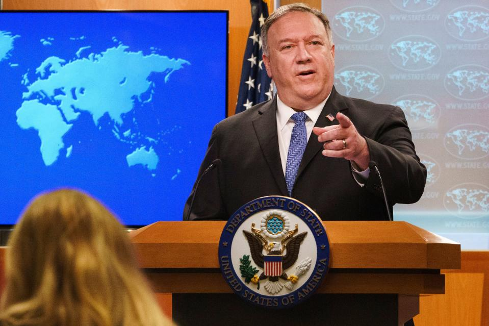 US Secretary of State Mike Pompeo. Getty Images