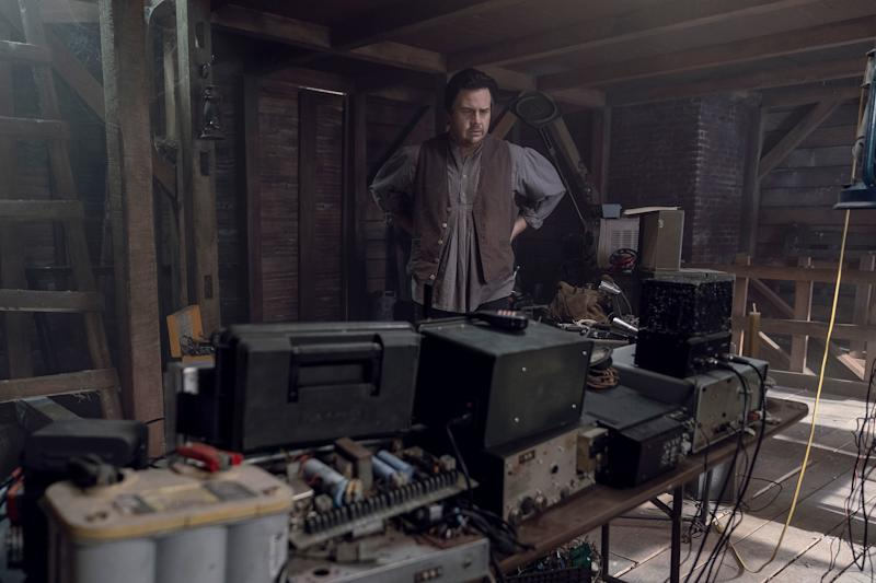 The Walking Dead recap: Eugene sets the stage for the Commonwealth
