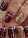 "<p>The iconic tartan plaid combines two Christmas colors for a preppy, chic, and cozy holiday manicure. Don't worry if you can't draw straight lines like <a href=""https://www.instagram.com/nailsbyemmaleeds/"" rel=""nofollow noopener"" target=""_blank"" data-ylk=""slk:nail artist Emma"" class=""link rapid-noclick-resp"">nail artist Emma</a> did here—there are nail stickers for that.</p><p><a class=""link rapid-noclick-resp"" href=""https://go.redirectingat.com?id=74968X1596630&url=https%3A%2F%2Fwww.etsy.com%2Flisting%2F709158765%2Fplaid-5-nail-decals-red-tartan-nail-art&sref=https%3A%2F%2Fwww.oprahmag.com%2Fbeauty%2Fg34113691%2Fchristmas-nail-ideas%2F"" rel=""nofollow noopener"" target=""_blank"" data-ylk=""slk:SHOP NAIL STICKERS"">SHOP NAIL STICKERS</a></p>"