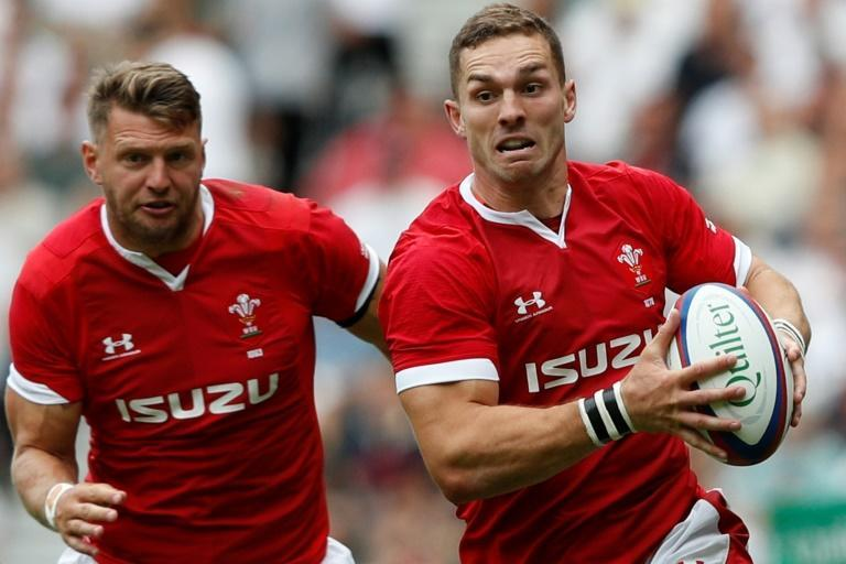 Wales back George North (right) has been ruled out of the Scotland match because of injury