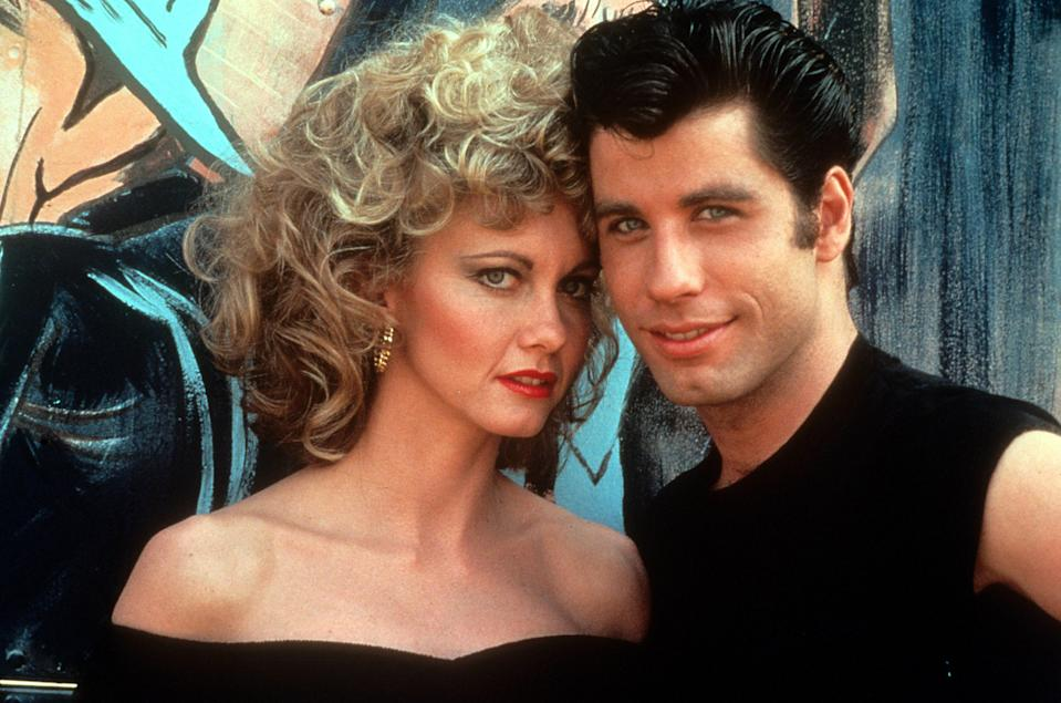 John and Olivia starred with Olivia in Grease together in 1978. Photo: Getty Images