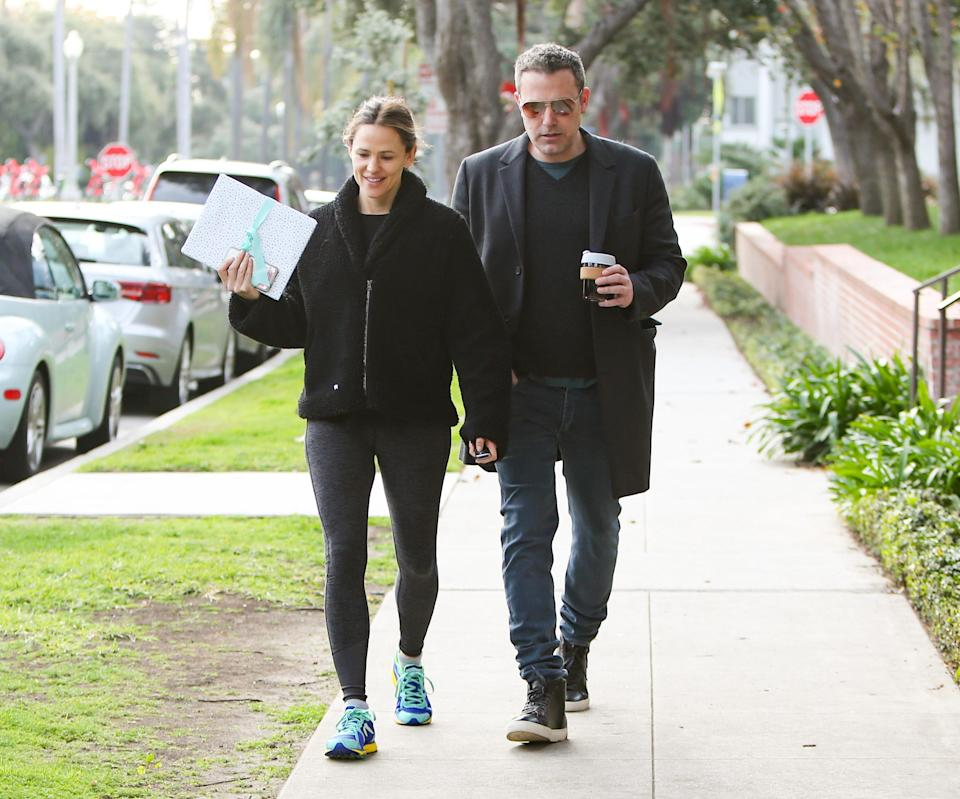 LOS ANGELES, CA – FEBRUARY 27: Jennifer Garner and Ben Affleck are seen on February 27, 2019 in Los Angeles, California. (Photo by BG004/Bauer-Griffin/GC Images)