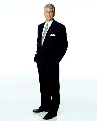 Barry Bostwick as the mayor in ABC's Spin City Spin City
