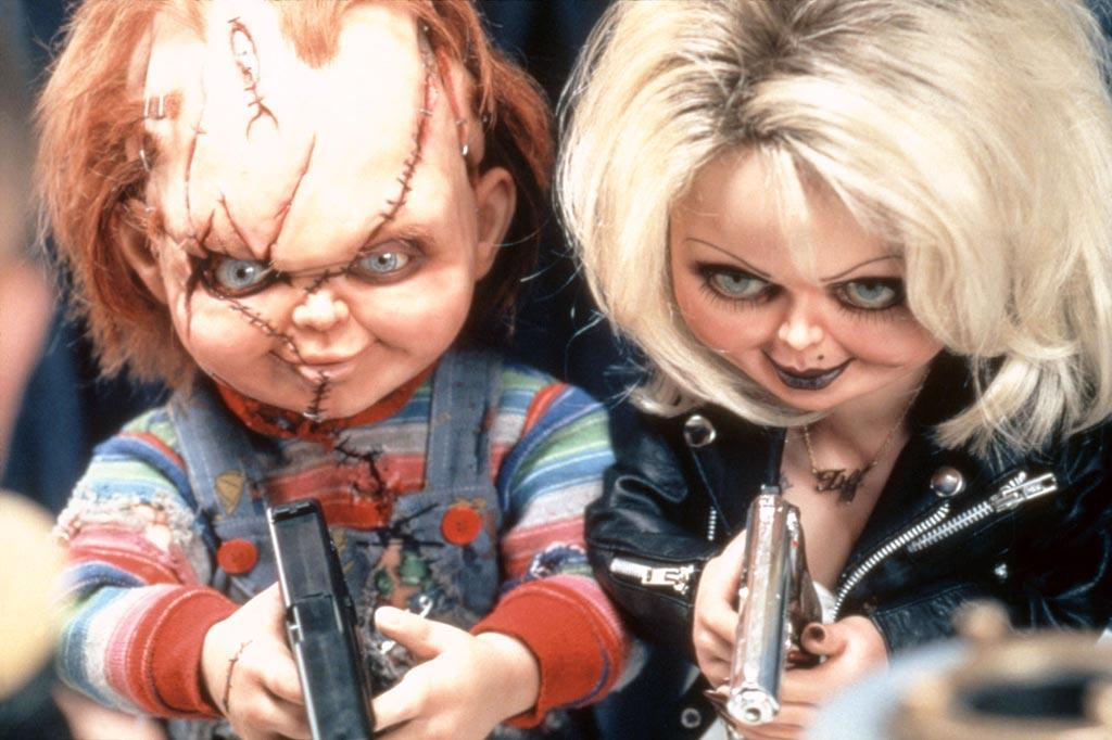 "<a href=""http://movies.yahoo.com/movie/contributor/1800018758"">Jennifer Tilly</a>, ""<a href=""http://movies.yahoo.com/movie/1800018755/info"">Bride of Chucky</a>""<br><br>Chucky's lady love, Tiffany, gets in on the action in the fourth installment of this humorous horror film. Voiced by Jennifer Tilly, this Barbie gone bad has a soft side for her main squeeze, yet isn't afraid to put him in his place ... or a knife in his back."