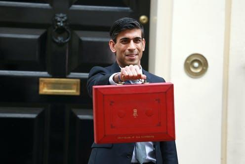 """<span class=""""caption"""">Have we been saved from the worst unemployment levels since 2013?</span> <span class=""""attribution""""><a class=""""link rapid-noclick-resp"""" href=""""https://www.shutterstock.com/image-photo/london-united-kingdommarch-11-2020-rishi-1670260216"""" rel=""""nofollow noopener"""" target=""""_blank"""" data-ylk=""""slk:Cubankite/shutterstock"""">Cubankite/shutterstock</a></span>"""