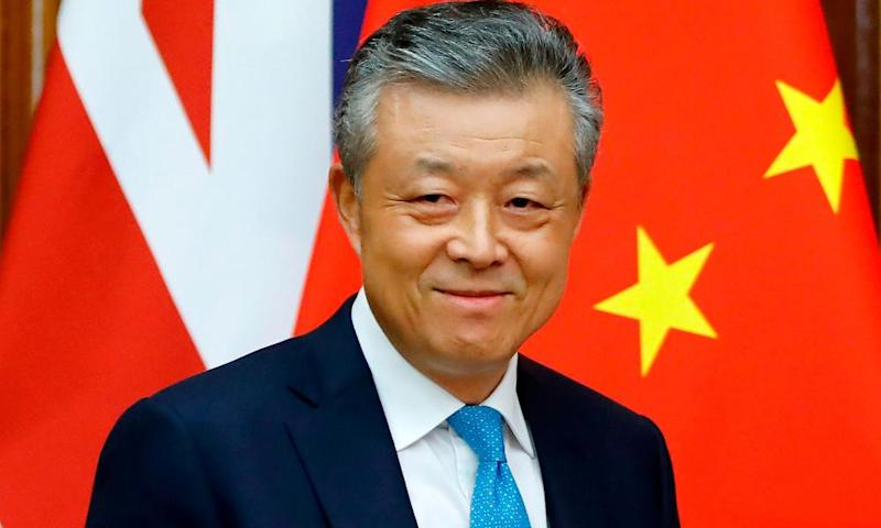 China's ambassador to Britain, Liu Xiaoming.