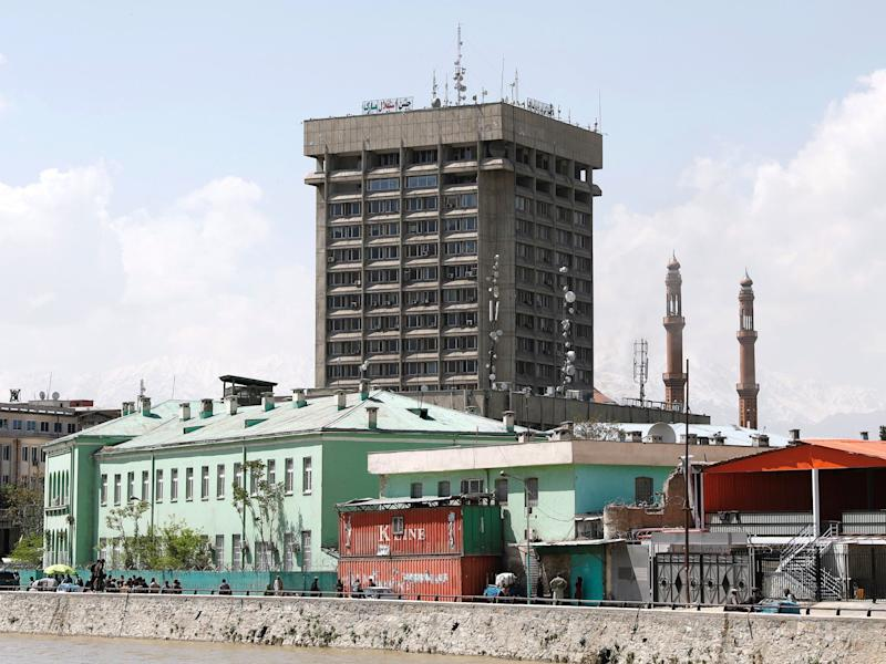 Kabul attack: Gunmen storm government ministry as blast hits Afghan capital