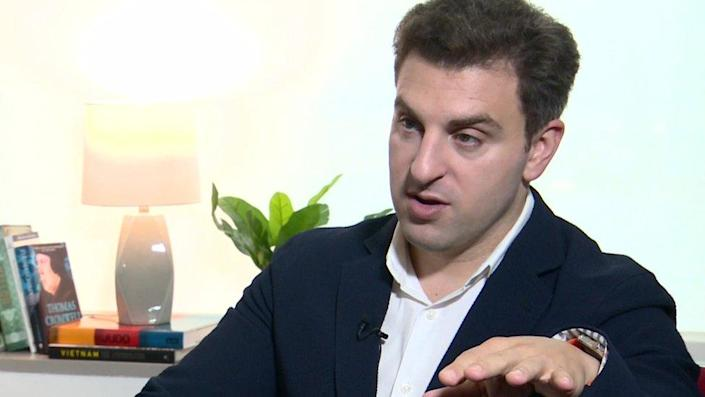 Brian Chesky, chief executive of AirBnB