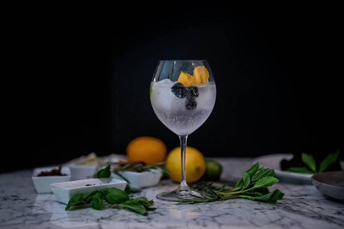 Gin cocktails are the heart and soul of Botanico Gin & Cookhouse, opening soon in Coconut Grove. But don't worry — there's plenty to eat here, too.