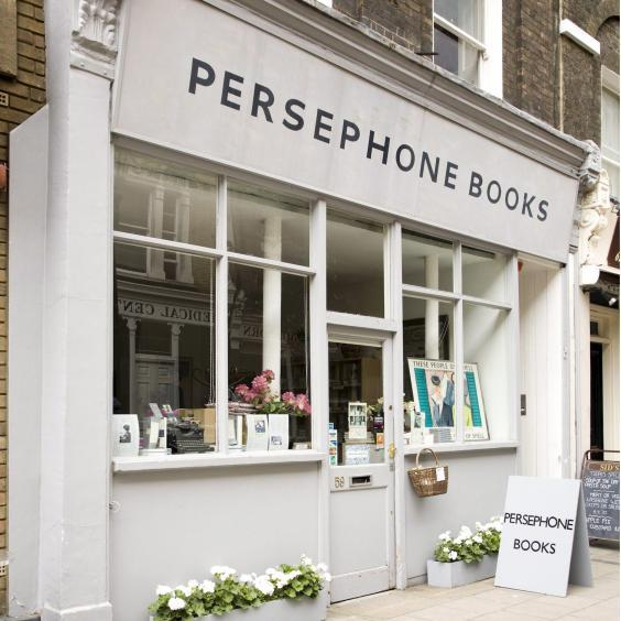 Persephone Books is located on Lamb's Conduit Street in London (Rex Features)