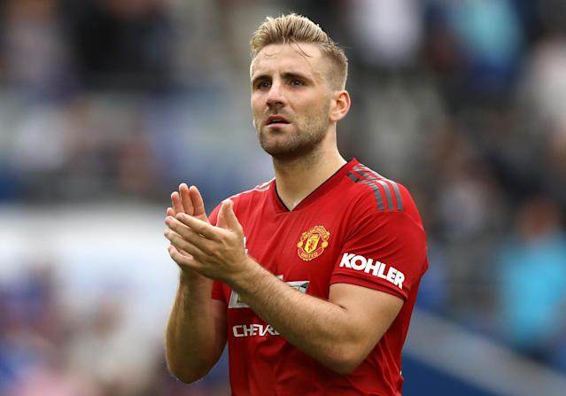 Luke Shaw has been recalled by Gareth Southgate to the Three Lions squad