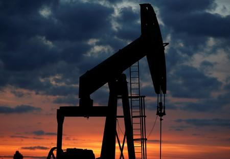 Oil prices jump 4.5% on U.S. crude stocks draw, Gulf of Mexico storm