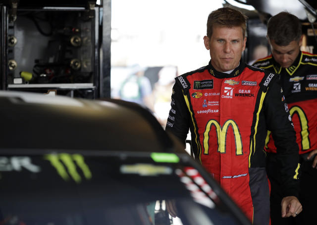 "<a class=""link rapid-noclick-resp"" href=""/nascar/sprint/drivers/191/"" data-ylk=""slk:Jamie McMurray"">Jamie McMurray</a> made the playoffs in 2017 and finished 12th in the standings. (AP Photo/Nam Y. Huh)"