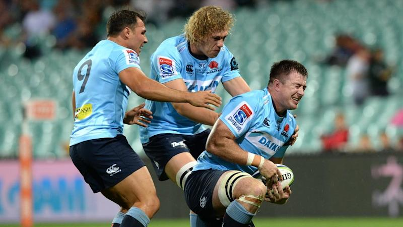SUPER RUGBY WARATAHS CRUSADERS