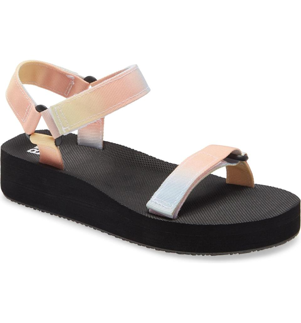 <p>This <span>BP. Skye Sport Slingback Platform Sandal</span> ($17, originally $30) is the comfiest thing you'll slip into any day.</p>
