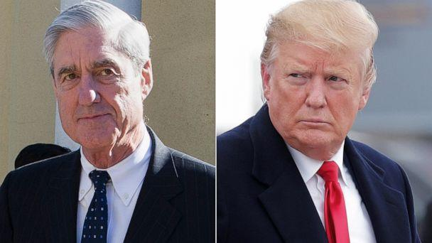PHOTO: Special Counsel Robert Mueller, left, and President Donald Trump, right. (AP/Reuters)