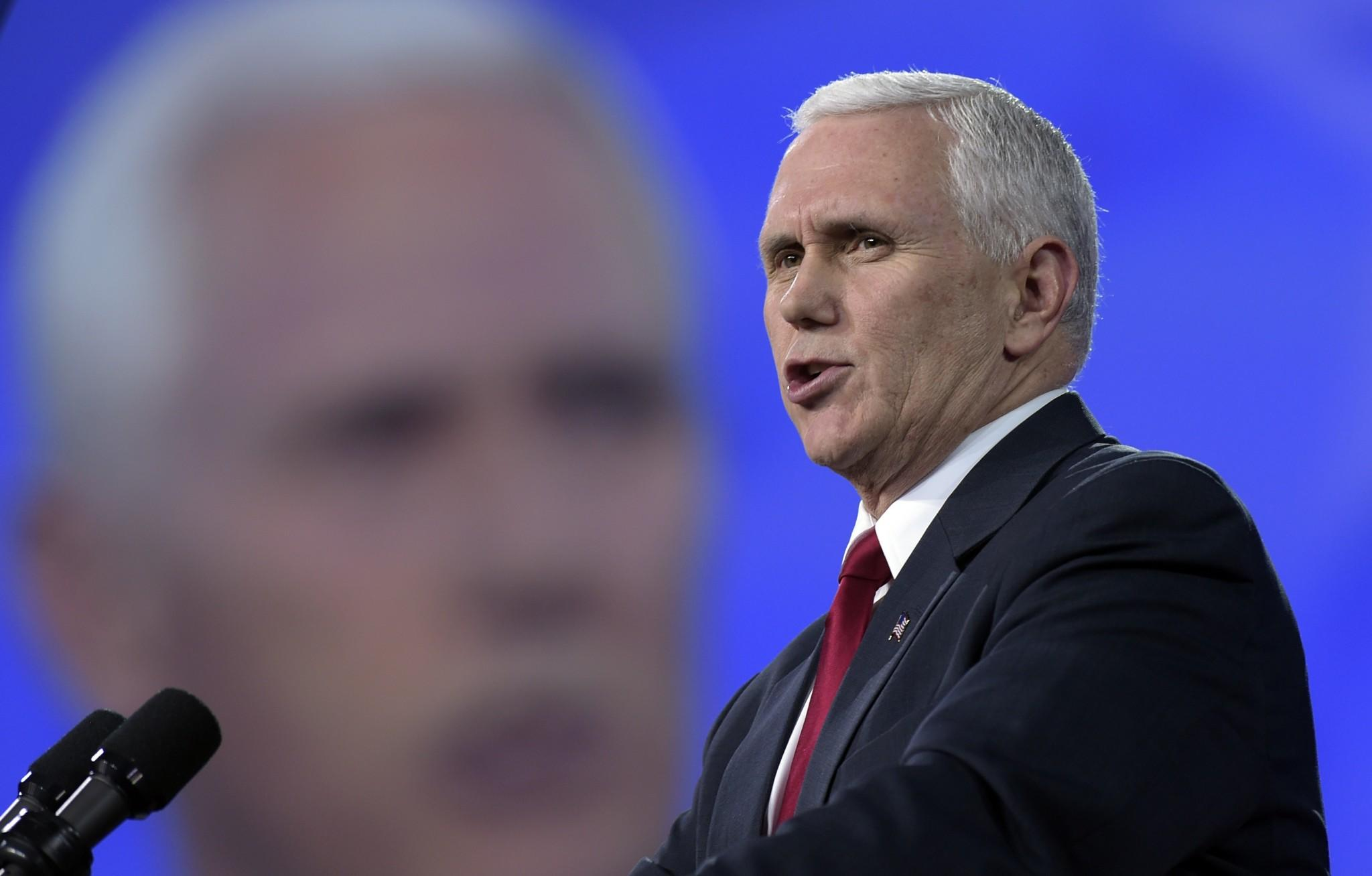 Vice President Pence Calls Trump Cabinet the 'A-Team'