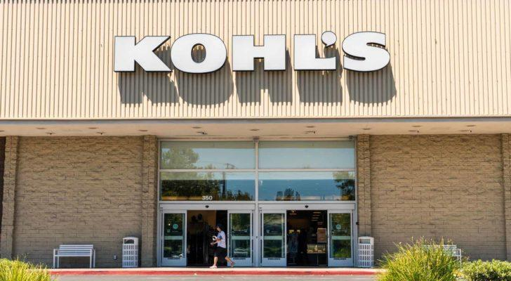 Image of Kohl's (KSS) logo on a Kohl's store