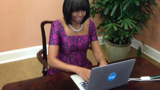 Storify: Michelle Obama Hosts Twitter Chat About Let's Move! Campaign
