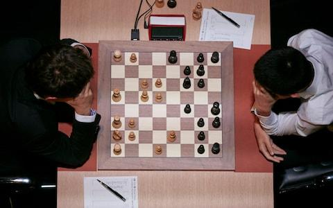 The game of chess often became the unusual battleground during the Cold War - Credit: Sebastian Reuter/Getty Images Europe